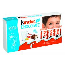 PIENA ŠOKOLĀDE KINDER CHOCOLATE BĒRNIEM 200G