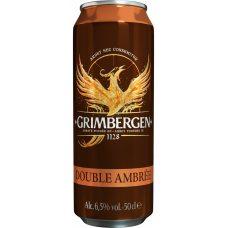 ALUS GRIMBERGEN DOUBLE AMBREE 6.5% 0.5L CAN