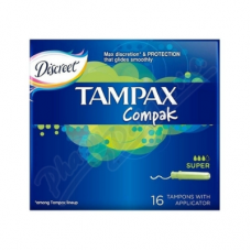 TAMPONI TAMPAX COMPAK SUPER 16GAB.
