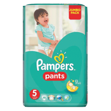AUTIŅBIKSĪTES PAMPERS PANTS S5 11-18 KG 48GB JP !!