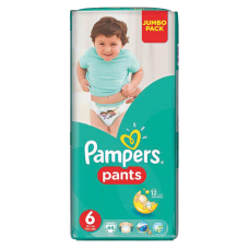 AUTIŅBIKSĪTES PAMPERS PANTS S6 16+ KG  44GB JP !!