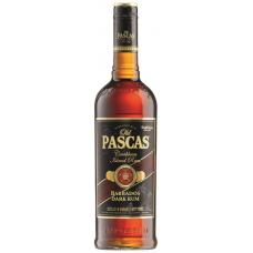 RUMS OLD PASCAS BARBADOS DARK RUM 37.5% 0.7L