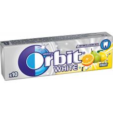 KOŠĻĀJAMĀ GUMIJA ORBIT WHITE FRUIT 14G