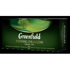 TĒJA ZAĻĀ GREENFIELD FLYING DRAGON 25*2G