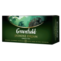 TĒJA GREENFIELD ZAĻĀ JASMINE DREAM 2G*25