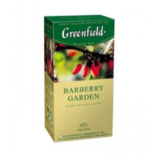 TĒJA GREENFIELD MELNĀ  BARBERRY GARDEN 1.5GX25