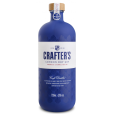 DŽINS CRAFTER'S LONDON DRY GIN 43% 0.7L
