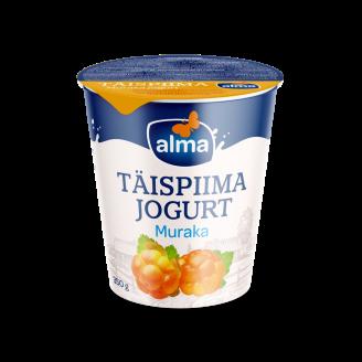 JOGURTS ALMA PILNPIENA AR LĀCENĒM 350G