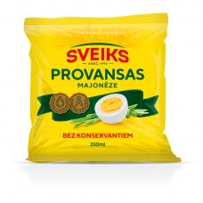 MAJONĒZE SVEIKS PROVANSAS 250G