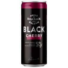 ALK.KOKT.BLACK BALSAM CHERRY 5% 0.33L CAN
