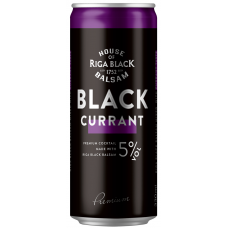 ALK.KOKT.BLACK BALSAM CURRANT 5% 0.33L CAN