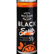 ALK.KOKT.BLACK BALSAM SPRITZ 5% 0.33L CAN