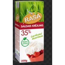 SALDAIS KRĒJUMS RASA 35% 200ML