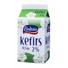 KEFĪRS BALTAIS 2.0% 0.5L