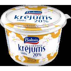 SKĀBAIS KRĒJUMS BALTAIS 20% 500G