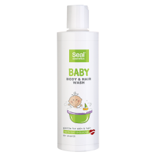 DUŠAS ŽELEJA SEAL BĒRNIEM HAIR & BODY 225ML