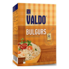 BULGURS VALDO VIDĒJA MALUMA 4X125G