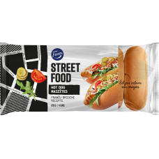PORCIJU MAIZE FAZER STREET FOOD BRIOCHE HOT DOG 120G