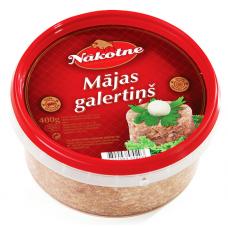 GALERTS MĀJAS 400G NĀKOTNE