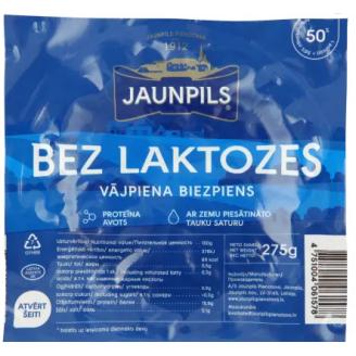 BIEZPIENS JAUNPILS VĀJPIENA BEZ LAKTOZES 275G