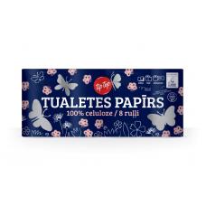 TUALETES PAPĪRS TIP TOP 3KĀRTU 8RUĻĻI