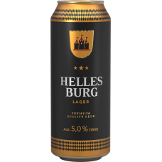 ALUS HELLES BURG LAGER 5% 0.5L CAN