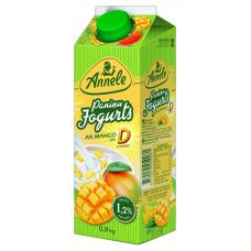 JOGURTS ANNELE PANIŅU AR MANGO 0.9L