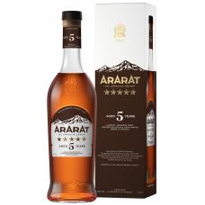 BRENDIJS ARARAT 5* 40% 0.5L PR