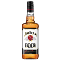 VISKIJS JIM BEAM WHITE BOURBON 40% 1L