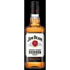VISKIJS JIM BEAM WHITE BOURBON 40% 1L