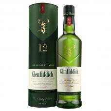 VISKIJS GLENFIDDICH 12 Y.O. SINGLE MALT 40% 0.7L