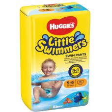 AUTIŅBIKSĪTES HUGGIES LITTLE SWIMMERS 12-18KG 11 GAB