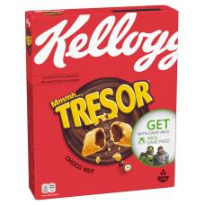 SAUSĀS BROKASTIS KELLOGG'S TRESOR CHOCO NUT 375G