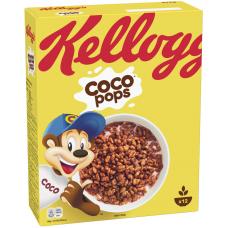 SAUSĀS BROKASTIS KELLOGG'S CHOCO POPS 375G
