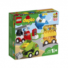LEGO DUPLO MANAS PIRMĀS BŪVĒJAMĀS MAŠĪNAS 10886