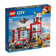 LEGO CITY FIRE UGUNSDZĒSĒJU DEPO 60215