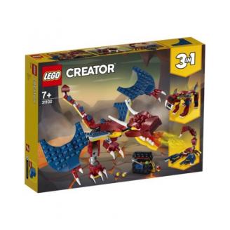 LEGO CREATOR UGUNS PŪĶIS 31102