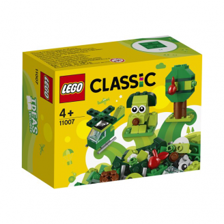 LEGO CLASSIC RADOŠIE ZAĻIE KLUCĪŠI 11007