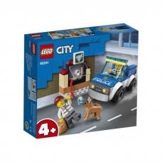 LEGO CITY POLICIJAS SUŅU PATRUĻA 60241
