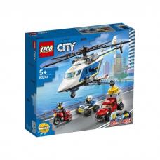 LEGO CITY POLICIJAS PAKAĻDZĪŠANĀS AR HELIKOPTERU 60243
