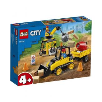 LEGO CITY BŪVLAUKUMA BULDOZERS 60252