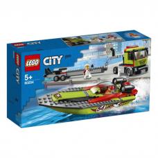 LEGO CITY SACĪKŠU LAIVAS PĀRVADĀTĀJS 60254
