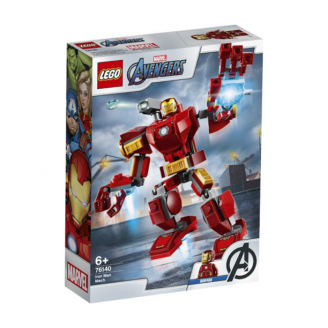 LEGO SUPER HEROES DZELZS VĪRS 76140