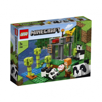 LEGO MINECRAFT PANDU BĒRNISTABA 21158
