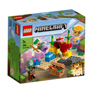 LEGO MINECRAFT KORAĻĻU RIFS 21164