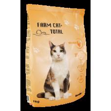 KAĶU BARĪBA FARM CAT AR VISTU 1KG