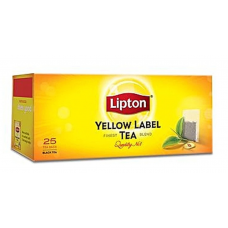 TĒJA LIPTON YELLOW LABEL 25PAC 50G