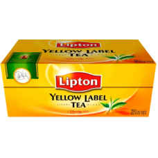TĒJA LIPTON YELLOW LABEL 50PAC 100G