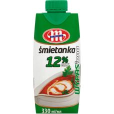 SALDAIS KRĒJUMS MLEKOVITA 12% 330ML UHT