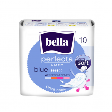 HIGIĒNISKĀS PAKETES BELLA  WHITE PERFECTA BLUE 10GAB.